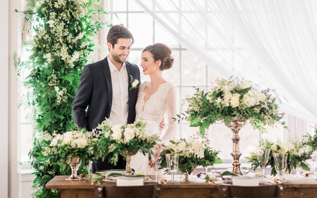 Romantic & Fresh Styled Shoot Wedding Film